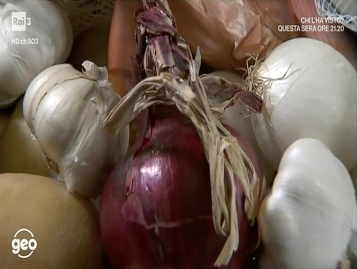 cipolle aglio patate conservare paparella geo