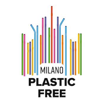 milano plastic free logo