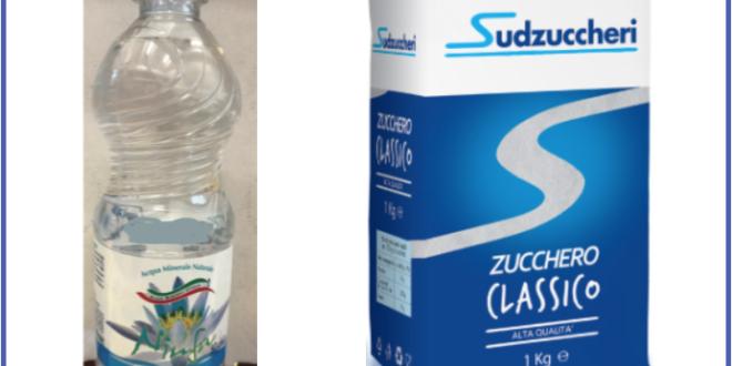 acqua naturale ninfa zucchero classico sud zuccheri richiamo