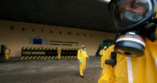Toxic Warning Action at EC in Brussels glifosato