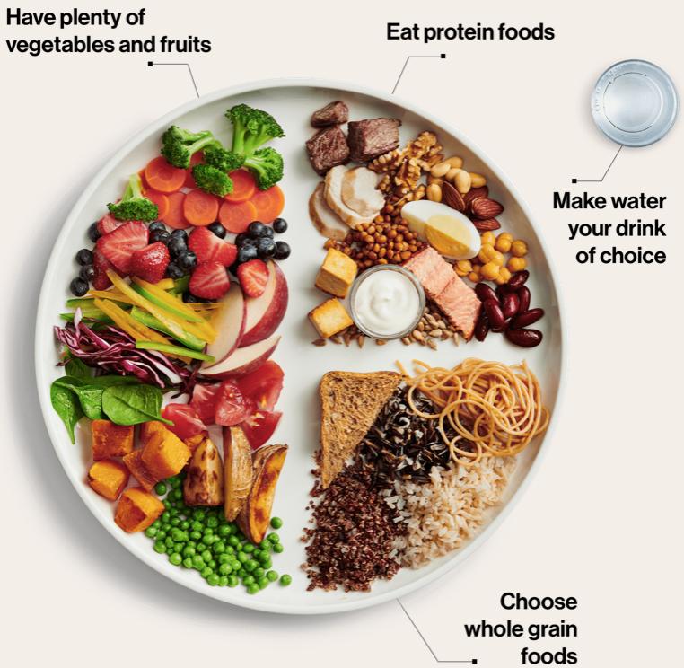 linee guida alimentazione sana canada dieta piatto