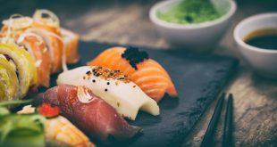 Sushi sashimi pesce
