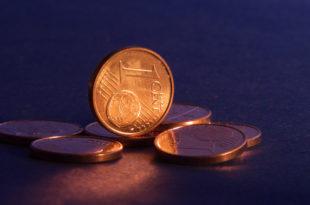 un centesimo monete