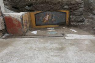 Termopolio-Regio-V pompei nereide cavalli marini