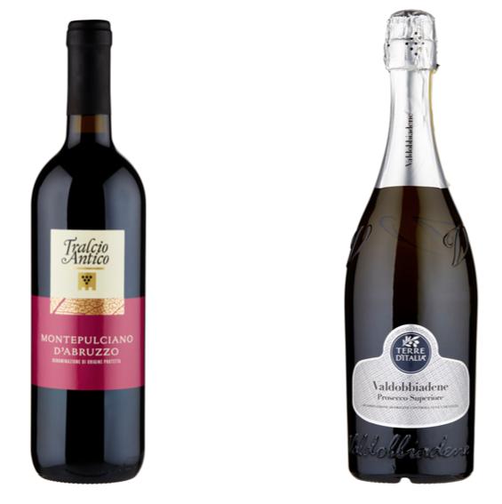 carrefour bottiglie vino tralcio antico terre d'italia