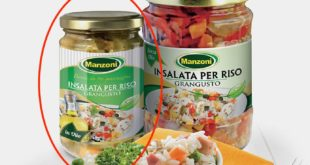 insalata per riso in olio grangusto manzoni richiamo