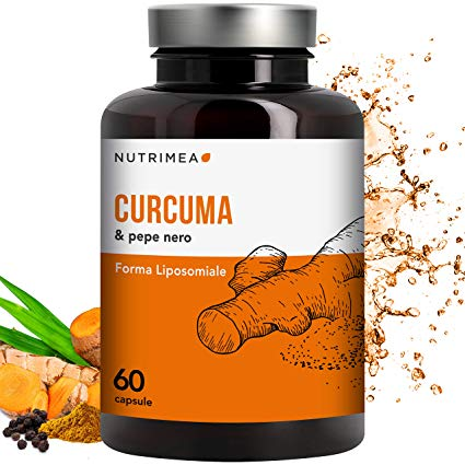Curcuma liposomiale più pepe nero - lotto 1810224, scadenza 10/21, prodotto da LABORATORIES NUTRIMEA