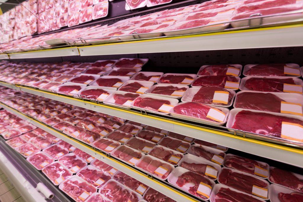 Carne supermercato Residui