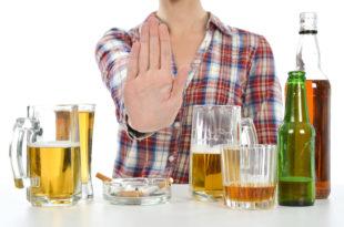 stop alcol