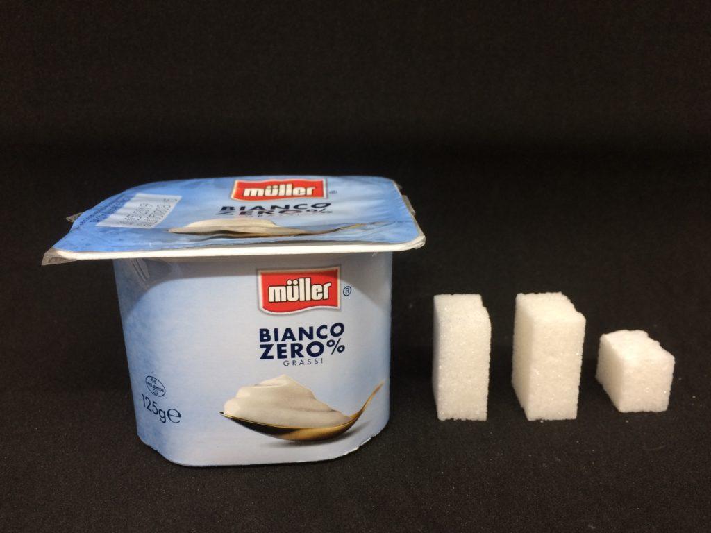 Yogurt Muller magro zollette zucchero