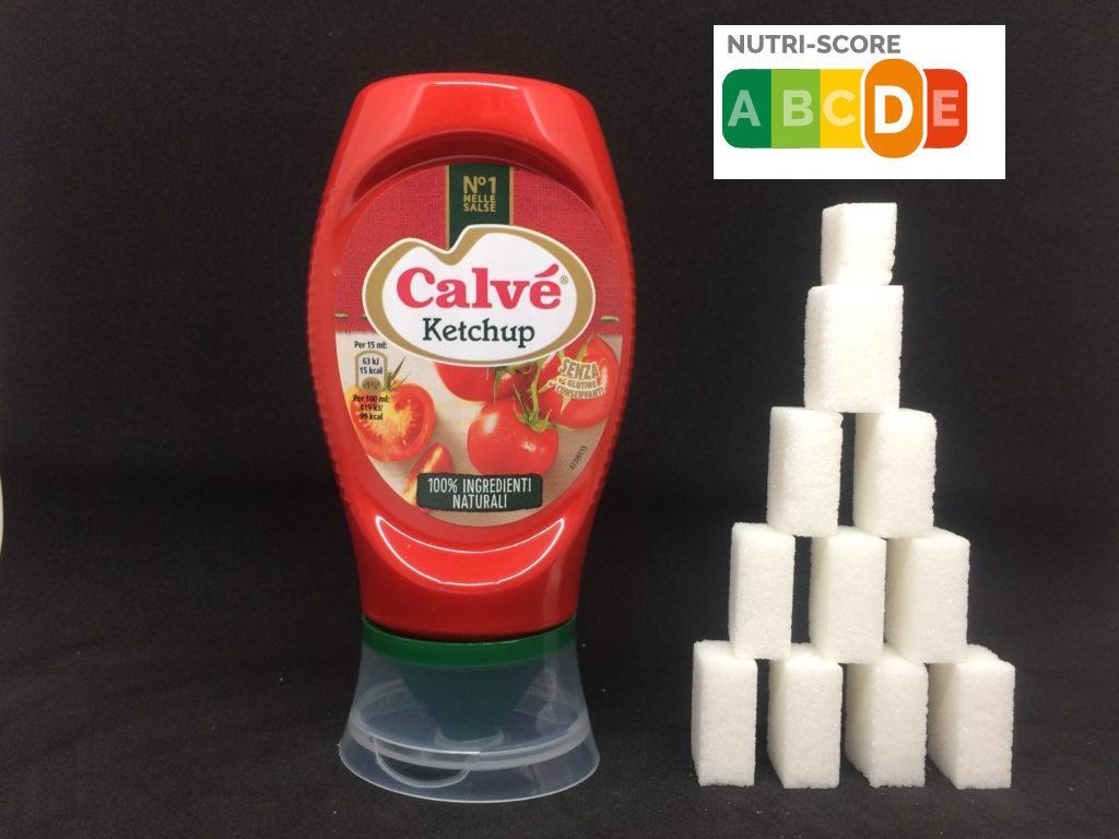 ketchup calve zollette zucchero
