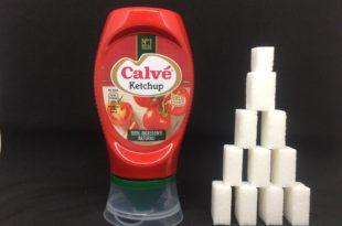 Ketchup Calvé zollette zucchero