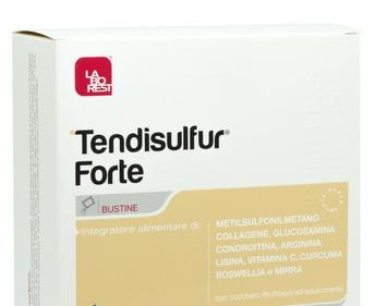 Tendisulfur Forte bustine - Laborest Italia s.r.l. prodotto da Nutrilinea