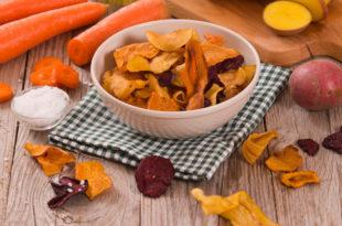 chips vegetali carole patate fritti sale