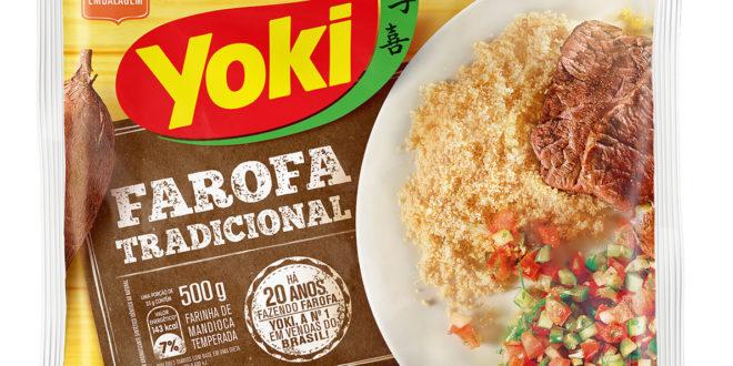 farofa de mandioca yoki manioca