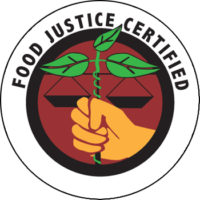 food justice certified marchio
