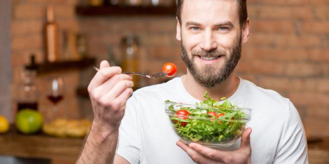 insalata salute uomo pranzo