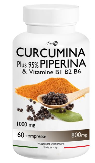 integratore curcumina piperina line@