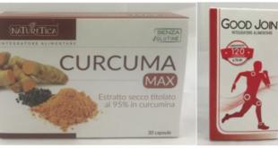 integratori alimentari curcuma max good joint