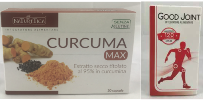 integratori alimentari curcuma max good joint