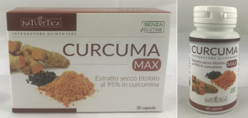 integratori alimentari curcuma max
