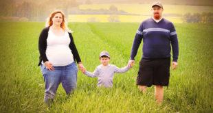 obesità sovrappeso natura famiglia abitudini dieta