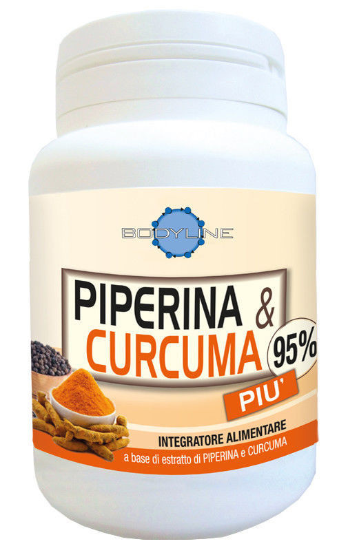 piperina curcuma 95 integratore bodyline