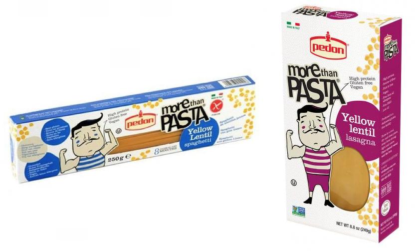 richiamo pedon Pasta di lenticchie gialle lasagna spaghetti more then pasta