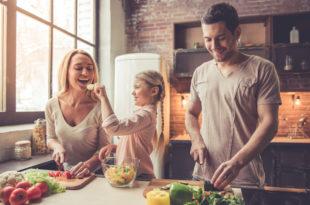bambini schizzinosi, cucinare in famiglia