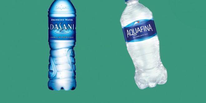 dasani aquafina acqua coca-cola pepsi