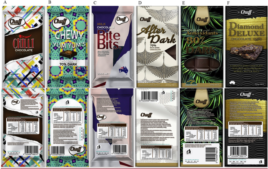 packaging cioccolata esperimento