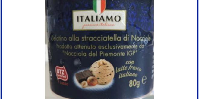 richiamo lidl gelato allergeni non dichiarati
