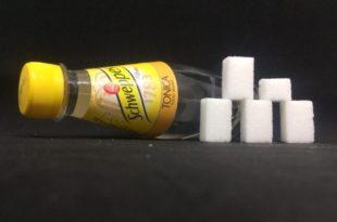 schweppes 250 ml bottiglietta zucchero zollette