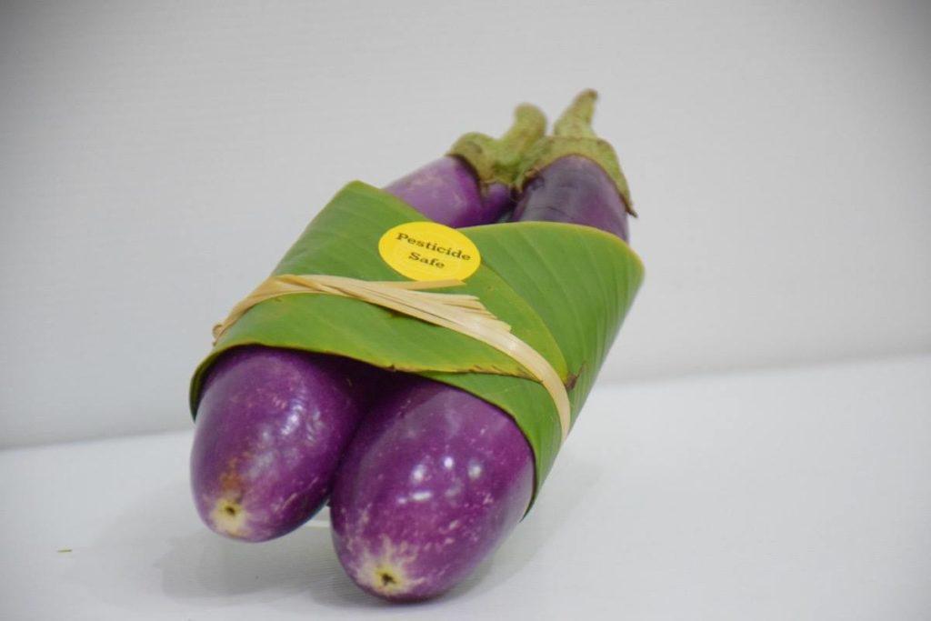 Foglie di banano imballaggio plastic free packaging