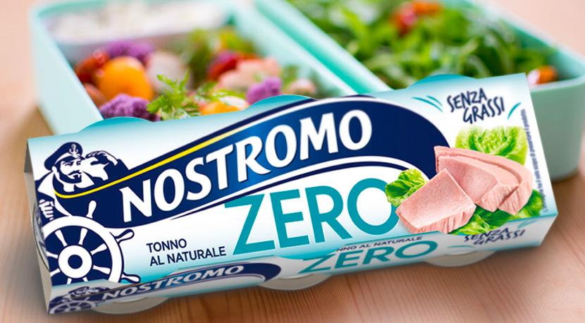 Tonno Naturale Nostromo Zero grassi nostromo pubblicità