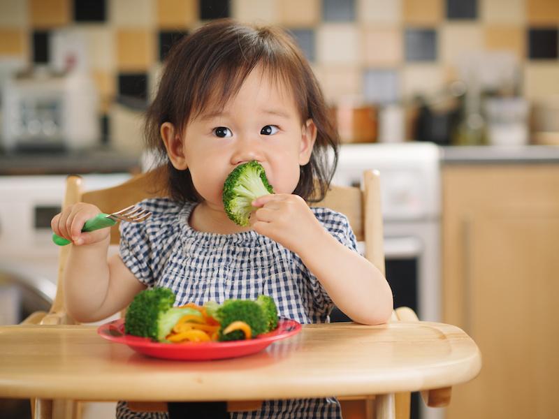 bambini verdure salute