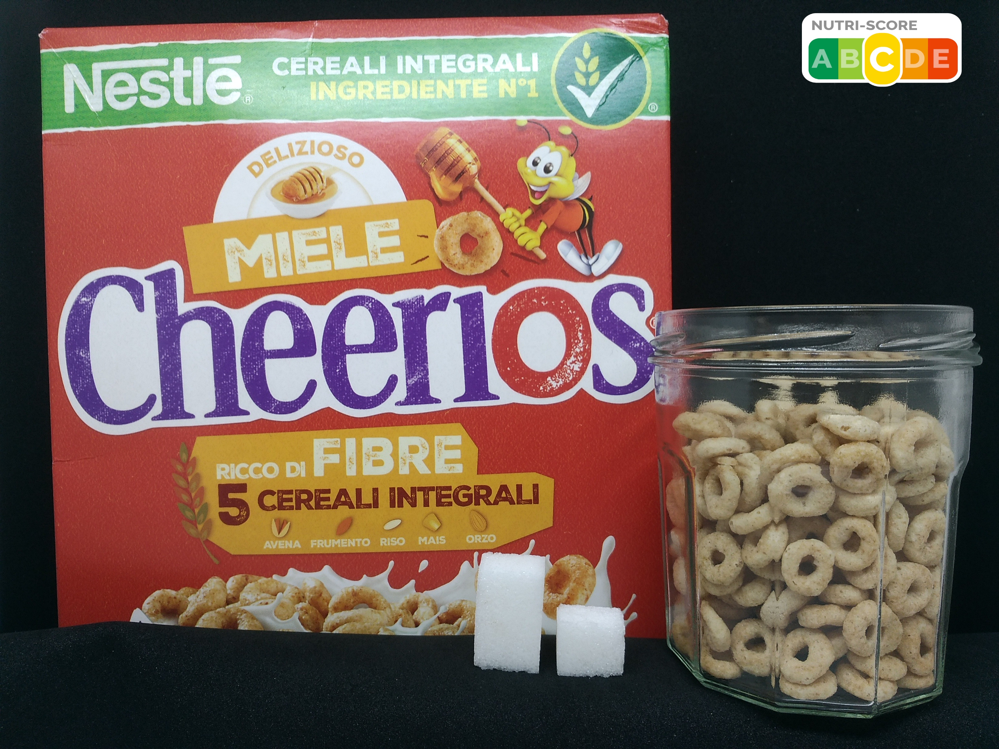 cereali cheerios zucchero zollette