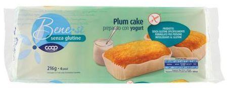coop benesi senza glutine plumcake