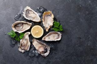 ostriche molluschi pesce
