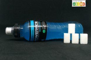 powerade blu zuccheri nutri-score