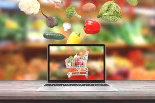 verdura carrello spesa online computer