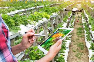 agricoltura di precisione tablet