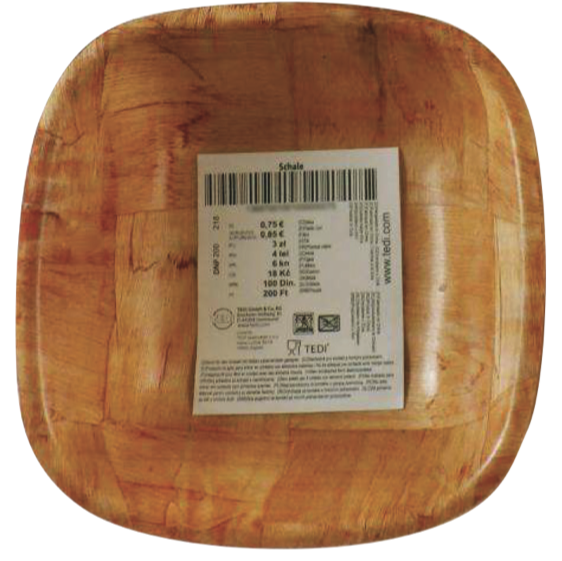 ciotola bamboo tedi formaldeide