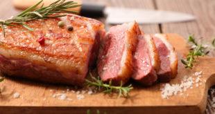 anatra carne duck proteine tagliere