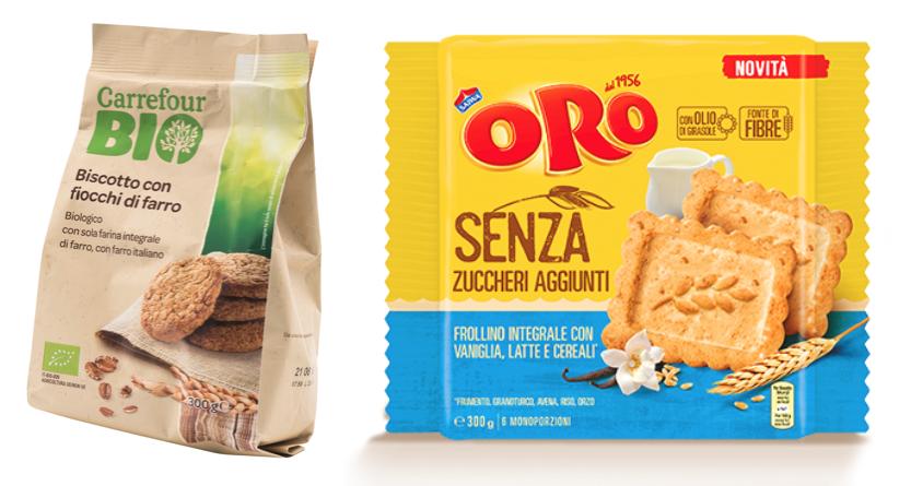 biscotti integrali farro carrefour oro saiwa senza zuccheri aggiunti