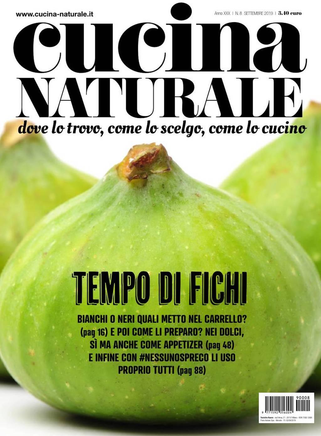 cucina naturale rivista settembre 2019