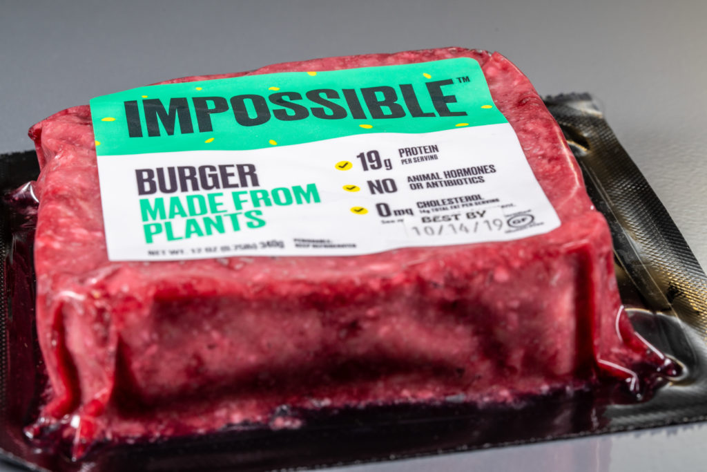 Impossible burger alternative vegetali carne