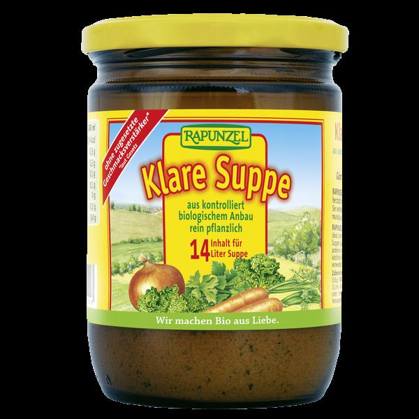 brodo vegetale klare suppe rapunzel