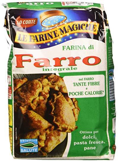 farina farro integrale farine magiche lo conte
