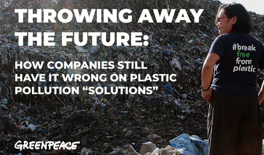 greenpeace plastica monouso rapporto